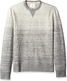 Billy Reid Men's Long Sleeve Gradient Crew Neck Sweatshirt