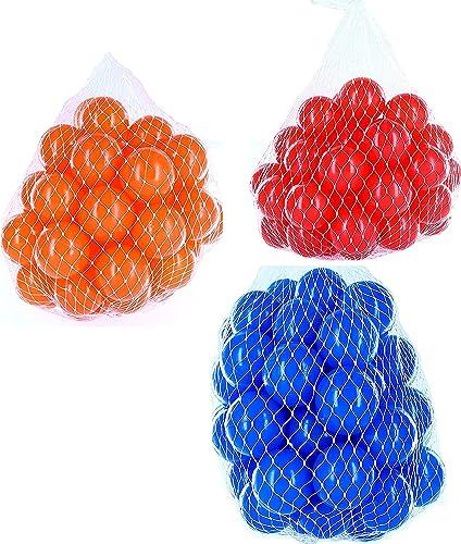 el mas de moda Pelotas para pelotas pelotas pelotas baño variadas Mix con azul, rojo y naranja Talla 6000 Stück  Venta barata
