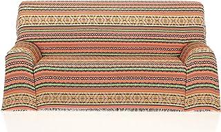 Cardenal Textil Azteca Foulard Multiusos, Naranja, 180x290