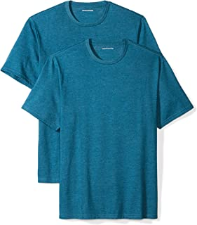 Amazon Essentials Men's 2-Pack Loose-Fit Short-Sleeve Crewneck T-Shirts