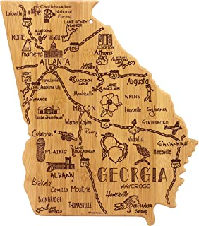 Totally Bamboo Georgia State Destination Bamboo Serving and Cutting Board