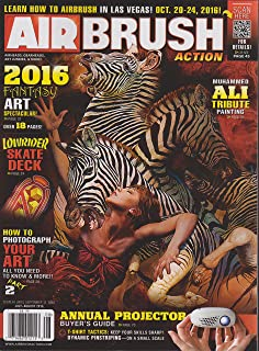 Air Brush Action Magazine July/August 2016