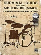 دليل البقاء على قيد الحياة للحصول على Drummer حديثة: وقوع اصطدام بطبيعة الحال في جميع أنماط الموسيقية من أجل drumset ، كتاب & الصوت عبر الإنترنت
