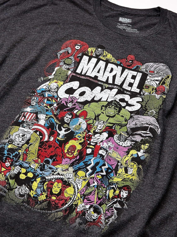 S-XL Avenger Obey Style Marvel Comics Schwarz Iron Man Herren T-Shirt