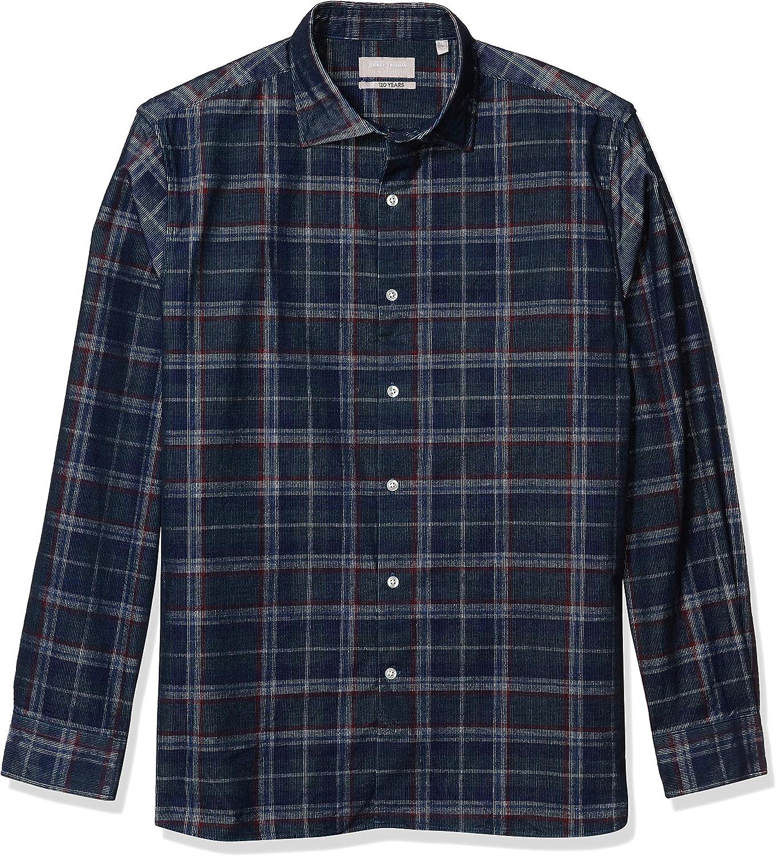 Hickey Freeman Overseas parallel import regular item Men's Bleecker Shirt Great interest Button Down