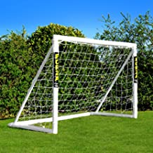 6ft x 4ft Forza Soccer Goal Post and Net   Perfect First Backyard Goal [Optional Extras]   Soccer Training Equipment   Bac...
