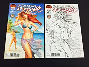 Amazing Spider-Man Renew Your Vows #5 Hawaii J Scott Campbell Variant SET (Color & Sketch)