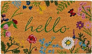 """Calloway Mills AZ105991729 Floral Hello Doormat, 17"""" x 29"""", Multicolor"""