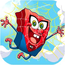 Sponge Boy Spider Adventure