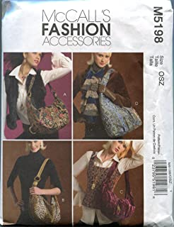 McCall's Sewing Pattern M5198 Hobo Bags in Four Styles