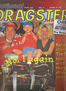 National Dragster Magazine, Vol. XXXVI, Issue 42 (October 27, 1995)