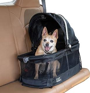 حاملة الحيوانات الاليفة ومقعد للسيارة للقطط والكلاب من بيت جير 360 Pet Carrier & Car Seat PG1040NZBK