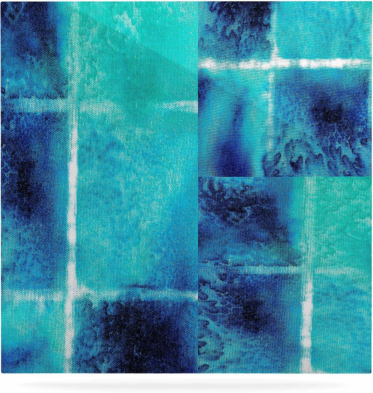 Kess eigene Nina Nina Nina May  Sole Studie  Blaugrün Blau Luxe Platz Panel, 8 von 20,3 cm B014WSMD2S f574b5