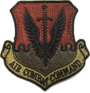 U.S. Air Force Air Combat Command OCP Patch - Spice Brown