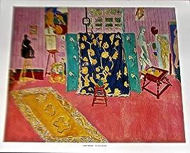 Henri Matisse The Pink Studio Poster 14x11 Offset Lithograph