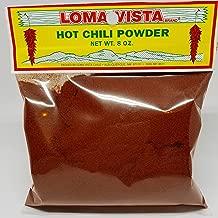 Loma Vista Hot New Mexico Red Chili Powder, 8 Ounces