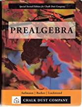 Prealgebra - Special Second Edition for Chalk Dust Company