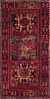 Safavieh Vintage Hamadan Collection VTH213A Antiqued Red and Multi Area Rug (2'7