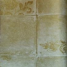 PVCWallpaper Beige106 cm x 15.6 m