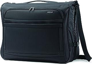 American Tourister Ilite Max Ultra Valet Garment Bag, Black, Checked – Medium