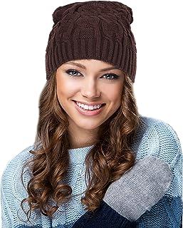 EGOGO Winter Chunky Soft BeanySkull Cap Oversized Baggy Trendy Thick Knit Beanie Skull Hat For Men and Women E601-7