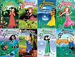 The Rescue Princesses #1–#8 Pack : The Secret Promise / The Wishing Pearl / The Moonlight Mystery / The Stolen Crystals / The Snow Jewels / The Magic Rings / The Lost Gold / The Shimmering Stone