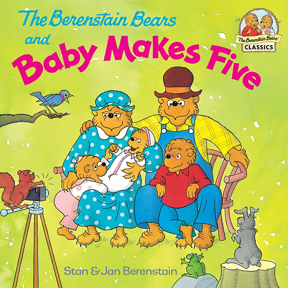 増幅器地平線あえぎThe Berenstain Bears and Baby Makes Five (First Time Books(R)) (English Edition)