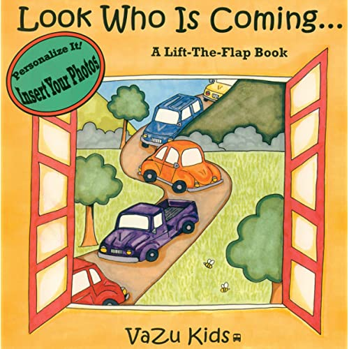 Look Who Is Coming, Personalized Book