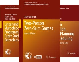 International Series in Operations Research & Management Science (51-100) (50 Book Series)