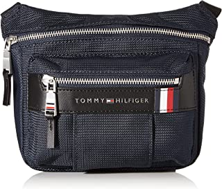 Tommy Hilfiger - Elevated Nylon Mini Camera Bag, Bolso bandolera Hombre, Azul (Sky Captain), 1x1x1 cm (W x H L)
