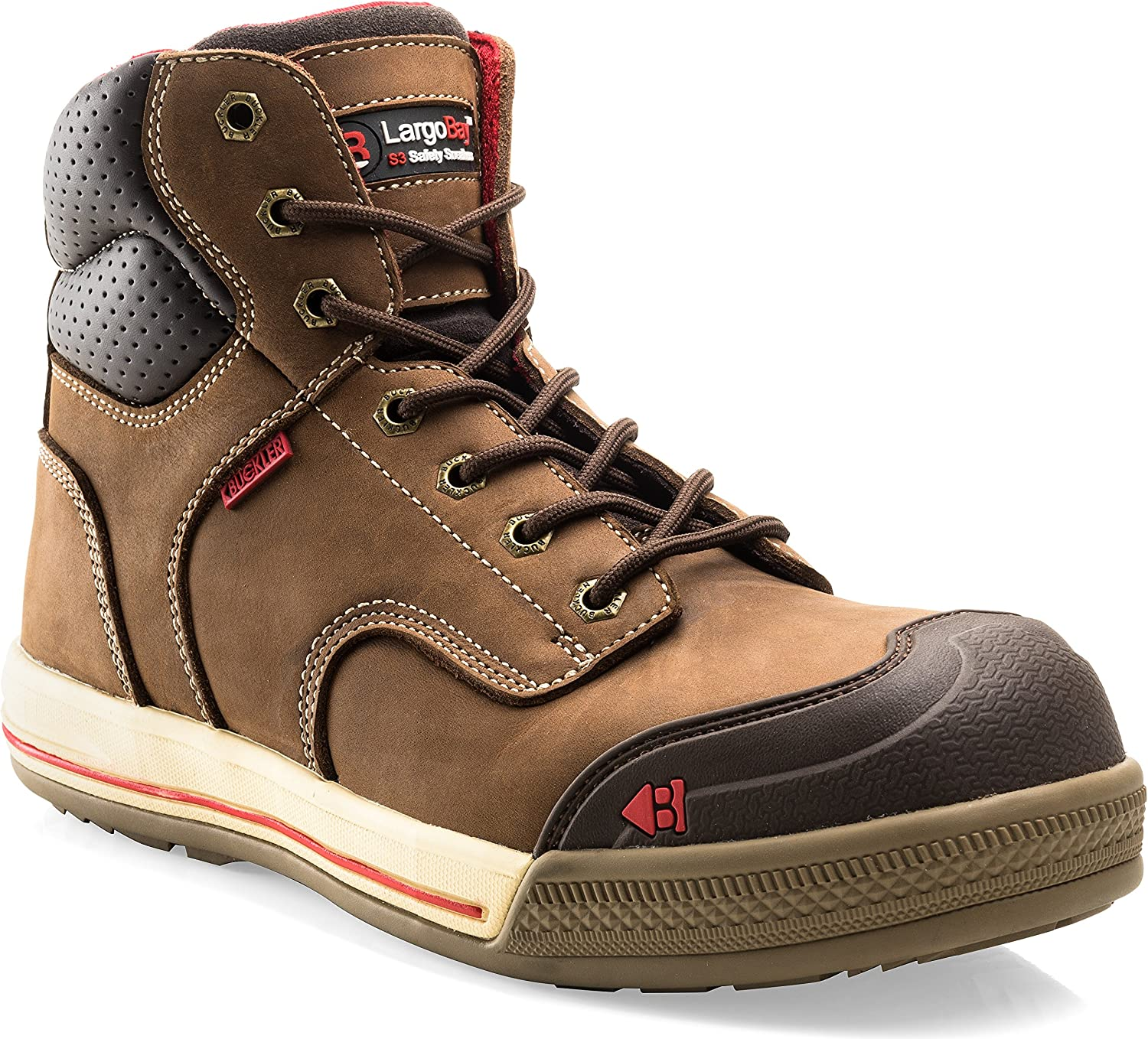 Buckler Largo Bay Brown Safety Lace Sneaker Boot