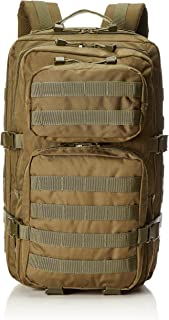 Mil-Tec Military Army Patrol Molle Assault Pack Tactical Combat Rucksack Backpack Bag 36L Coyote Tan