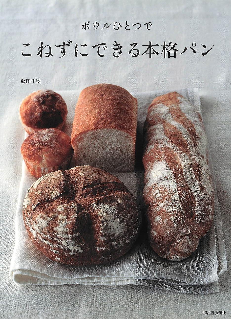 価値のないテメリティ形状ボウルひとつで こねずにできる本格パン