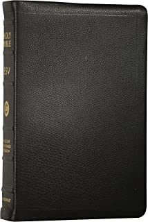 ESV Classic Reference Bible, Premium Calfskin Leather, Black, Black Letter Text