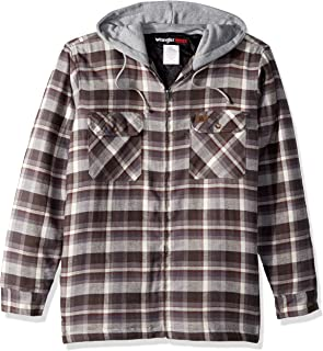 Men's Hooded Flannel Jacket