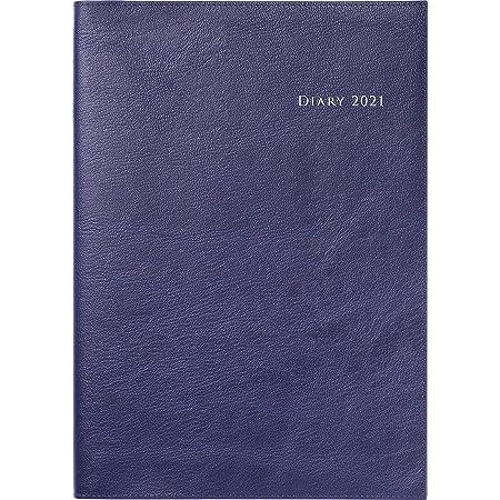 高橋 手帳 2021年 4月始まり B5 ウィークリー デスクダイアリー カジュアル 紺 No.974
