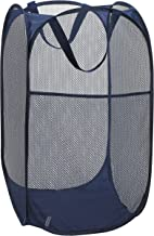 Mesh Popup Laundry Hamper – Portable, Durable Handles, Collapsible for Storage and..