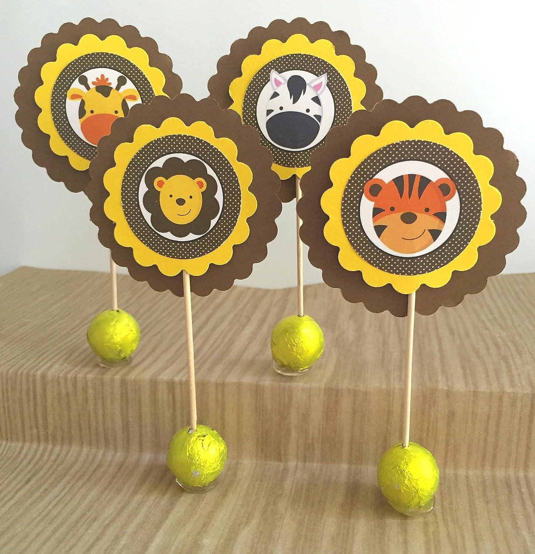 low-pricing Alternative dealer Safari Animal Jungle Cupcake of 12 Set Toppers