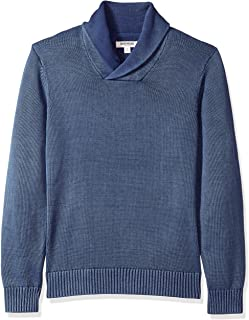 Amazon Brand - Goodthreads Men's Soft Cotton Shawl Sweater