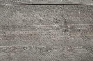 WoodyWalls Self-adhesive, Wood Wall Panels. (19.5 sq. ft. per box) Gray Color