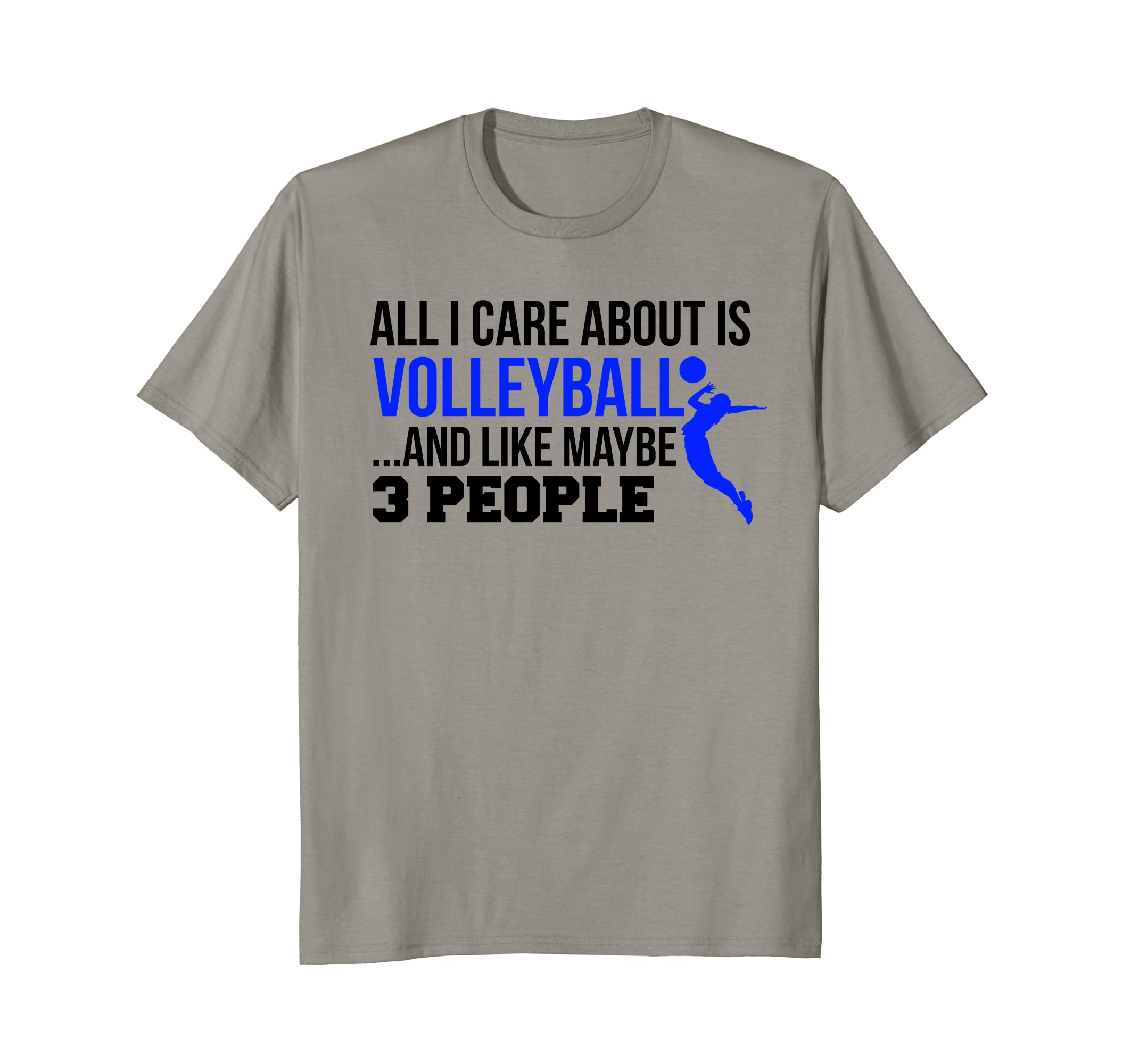 7f1900380 Amazon.com: Cute College Volleyball T-Shirt For Teen Girls and Women:  Clothing