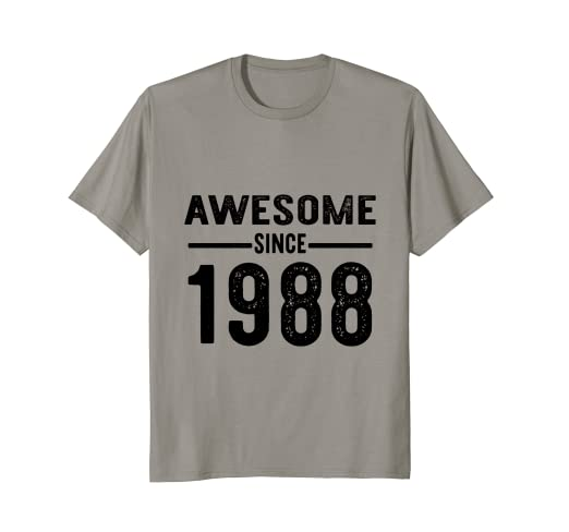 Image Unavailable Not Available For Color Awesome Since 1988 30th Birthday Gift Present Idea