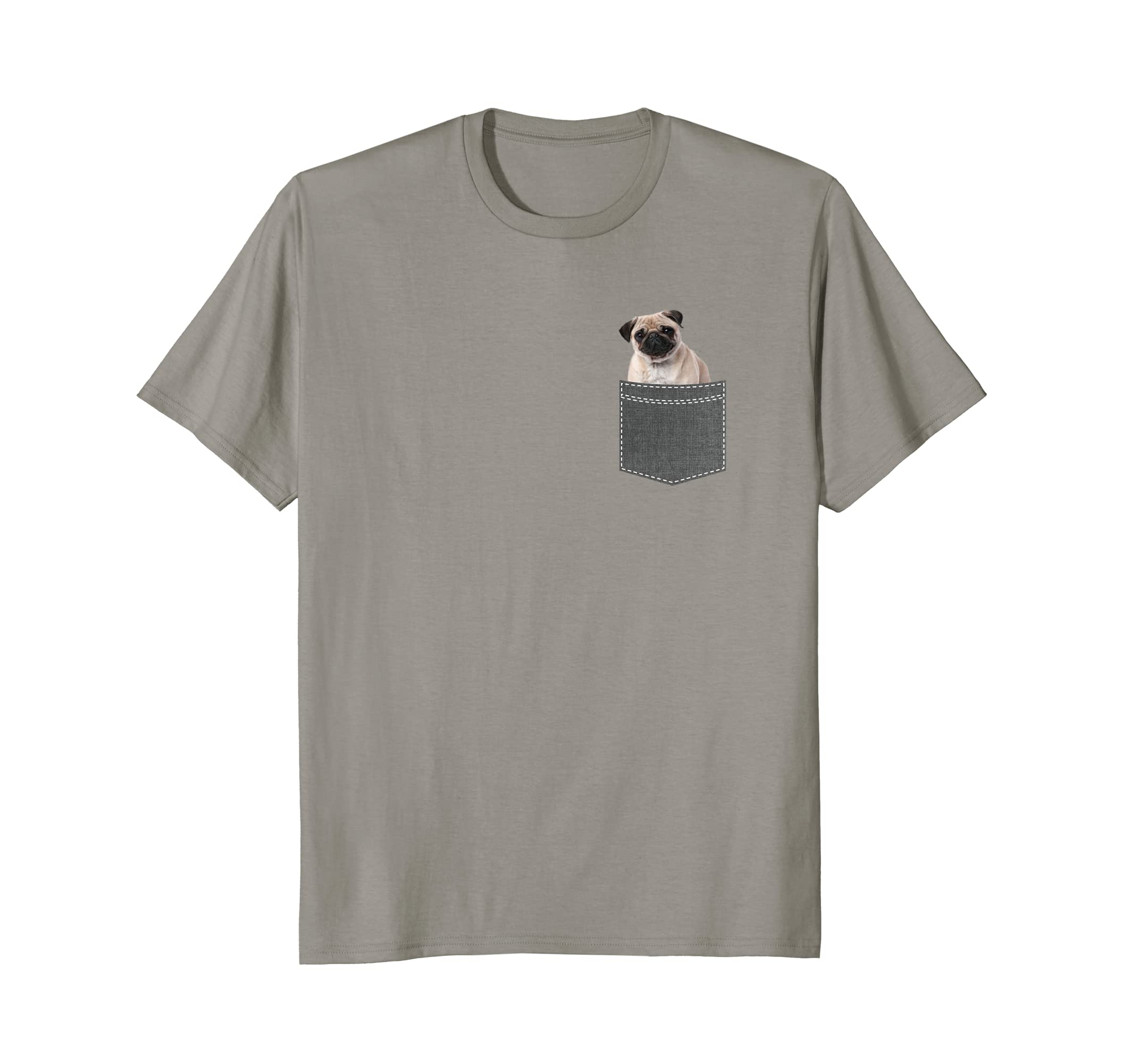 Pug in Your Pocket T-Shirt - Funny Pug Gift for Dog Owners-AZP