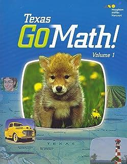 Houghton Mifflin Harcourt Go Math! Texas: Student Edition, Volume 1 Grade K 2015