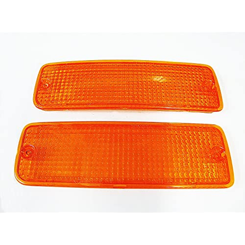Toyota Pickup Hilux Mk3 4runner Front Bumper Indicator Light Lamp Lens Truck Pickup 89-95