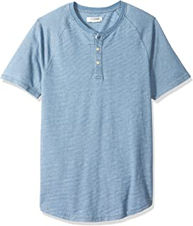 Men's Short-Sleeve Indigo Henley
