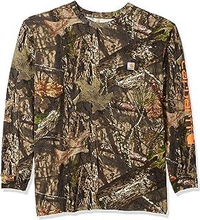 7bf72233ae62 Carhartt Men s Big   Tall Workwear Graphic Camo Long Sleeve T Shirt