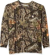 Carhartt Men's Big & Tall Workwear Graphic Camo Long Sleeve T Shirt