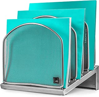 Desk Organizer InclinedFile Sorter by Mindspace, Office Desktop Document sorter with 5 Upright Sections | File Folder and...