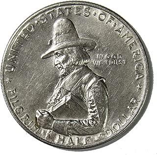 1920 D Pilgrim Tercentenary Silver Commemorative Half Dollar 50¢ Brilliant Uncirculated